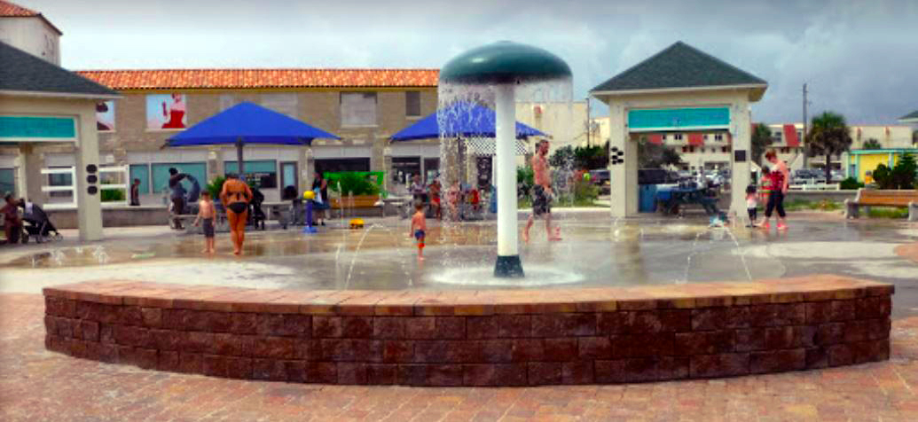 Splash Park at the St. Augustine Pier