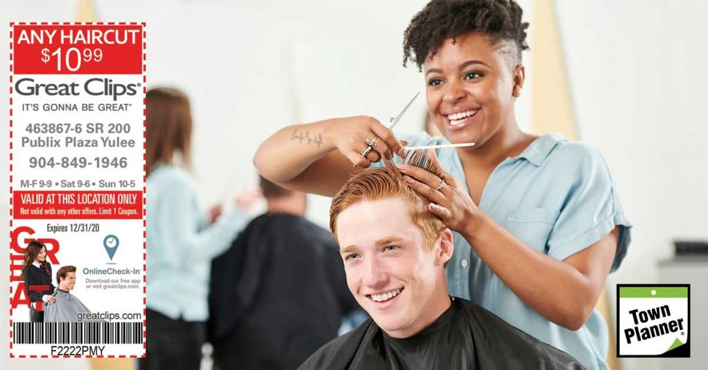 $10.99 Any Great Clips Haircut
