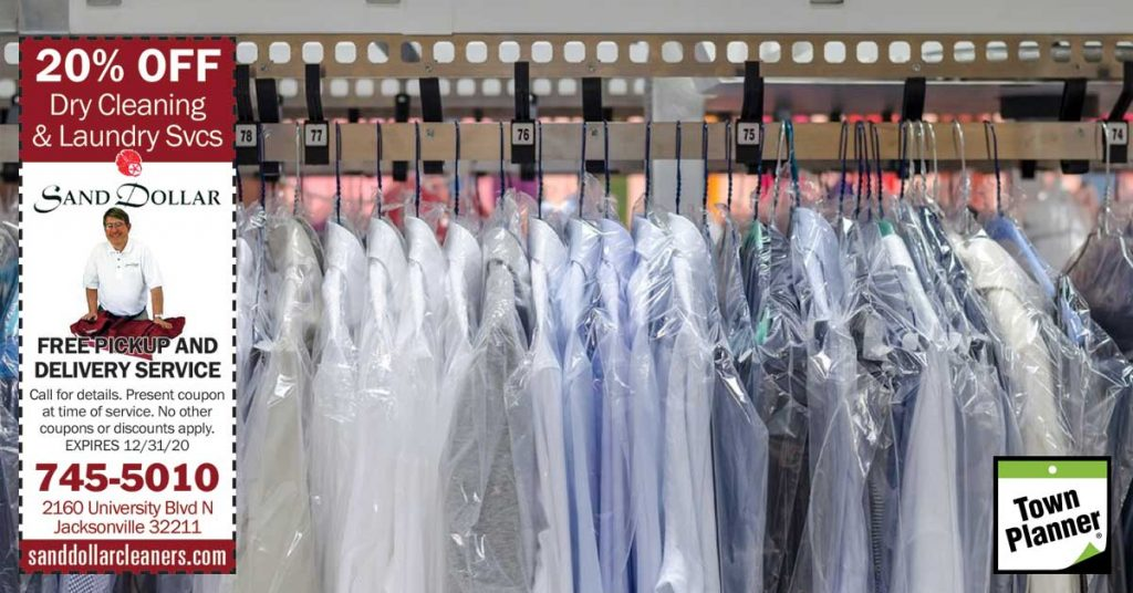 20% Off Dry Cleaning – Free Pickup & Delivery