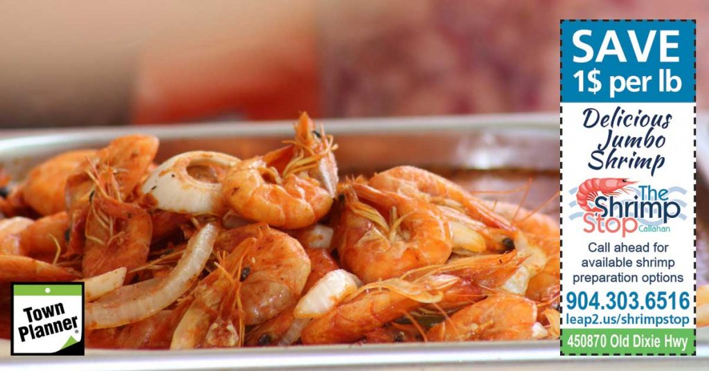 Save $1 Per Pound of Delicious Jumbo Shrimp