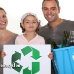 Family Recycling for America Recycles Day