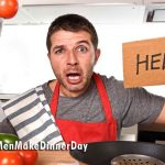 Man Frustrated Cooking in Kitchen
