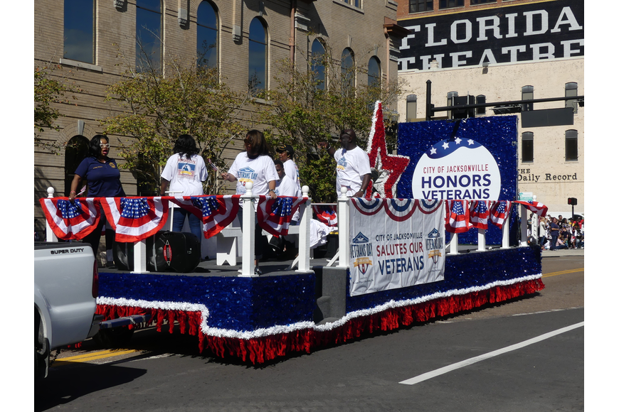 Jacksonville's 2020 Veterans Day Parade