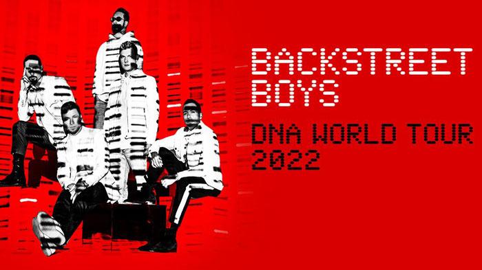 Backstreet Boys DNA World Tour 2022